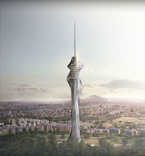 Istanbul's New Telecommunication Tower Is Sculpted By The Wind | Art Education, painting, drawing | Scoop.it