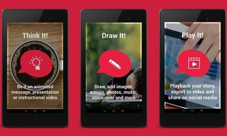 Draw My Story: app Android para crear dibujos animados y vídeos | eines video digital | Scoop.it