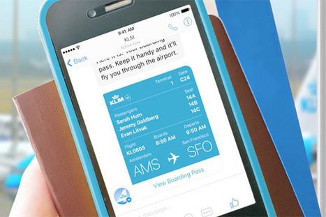 Su Facebook Messenger adesso è possibile monitorare i voli di KLM | InTime - Social Media Magazine | Scoop.it