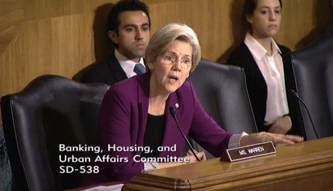 Elizabeth Warren Introduces 21st Century Glass-Steagall Act - Too Big Has Failed | Coffee Party Feminists | Scoop.it