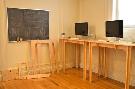how to make a standing desk for under 200 mit grads go digital