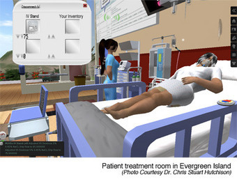 Online Nursing Degree Programs Teach Using Second Life Virtual Simulation | GetEducated.com | 3D Virtual-Real Worlds: Ed Tech | Scoop.it