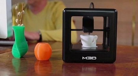 The First Consumer 3D Printer Is Now In Crowdfunding | Intellectual Property | Scoop.it
