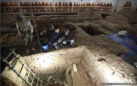 Earliest Buddhist shrine uncovered | History | Scoop.it