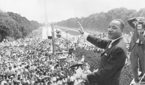 Martin Luther King: the speech - interactive | Innovation and Creative Thinking (through art) | Scoop.it