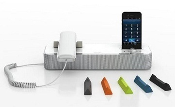Desktop VoIP Phone for iPhone and iPad: Invoxia NVX 610   Audio, Video, VOIP,  & Computer Systems   Scoop.it