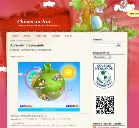 Chicos on-line del Colegio Newlands | herramientas y recursos docentes | Scoop.it