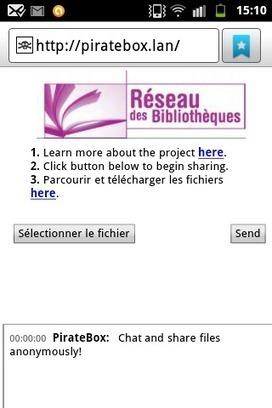 L'espace numérique: Les PirateBox se refont une beauté | Brèves de bibliothèque(S) | Scoop.it