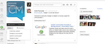 Pour créer une communauté en ligne: groupe Facebook ou communautéGoogle+?   Stratégie digitale et community management   Scoop.it