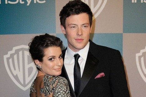 Lea Michele and Cory Monteith… From Reel to Real Love | blingpp | Scoop.it