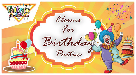 You Can Now Book Long Island Clowns For Birthday Parties