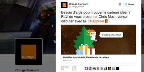 Twitter déploie les chatbots sur sa plateforme | Marketing Digital et Social Media | Scoop.it