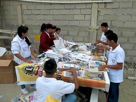 Tercer concurso intercolegial de reciclaje de periodicos  Melvin Jones   Actualité du monde associatif, du bénévolat, des ONG, et de l'Equateur   Scoop.it