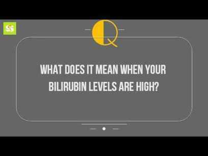 High adult in bilirubin
