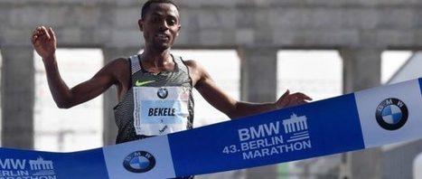 Marathon splits for Bekele during his 2016 Berlin Marathon 2:03:03.   Sports Activities   Scoop.it