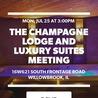 Champagne Lodge Chicago Weekend Getaway