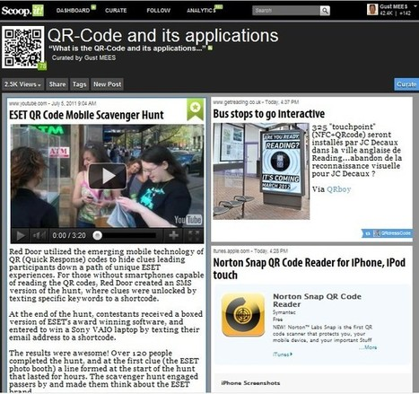 What are QR-Codes? | Educational technology | Scoop.it