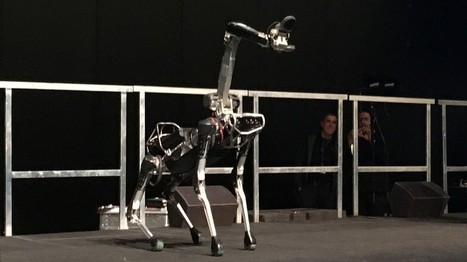 "Google's legged robots are getting smarter and leaner | L'impresa ""mobile"" 