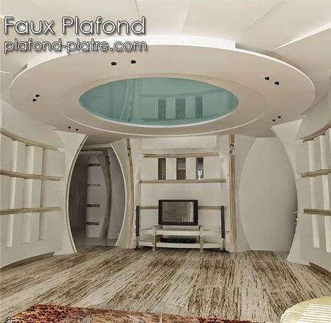 faux plafond platre 2014 d coration et d. Black Bedroom Furniture Sets. Home Design Ideas