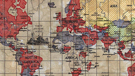 See a Map of the World Revealing Each Country's Most Visited Website | Cultura de massa no Século XXI (Mass Culture in the XXI Century) | Scoop.it