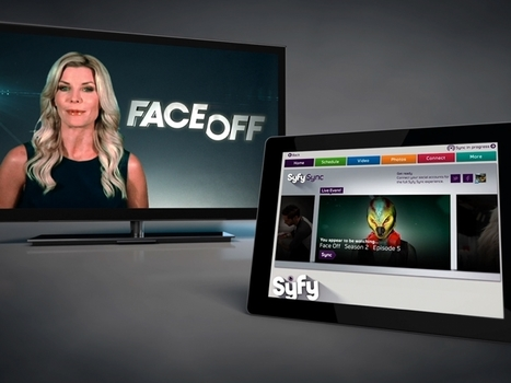 Second Screen : Welcome to Syfy Sync | Transmedia lab | Scoop.it