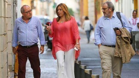 Susana Díaz y Javier Fernández se reunieron en secreto en Madrid para preparar el Comité Federal | Utopías y dificultades. | Scoop.it