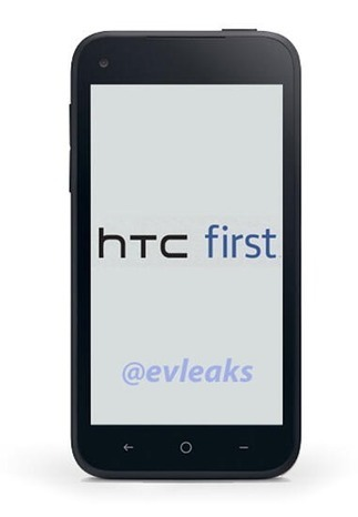'HTC First' Facebook Phone Leaked Ahead Of Thursday Announcement [IMAGE] | MarketingHits | Scoop.it