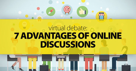 Virtual Debate: 7 Advantages of Online Discussions | Technology To Teach | Scoop.it