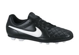 Nike Kids Jr Tiempo Rio II FG R Soccer Cleat |