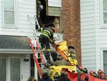 Firefighters cut through wall to rescue obese man | Strange days indeed... | Scoop.it