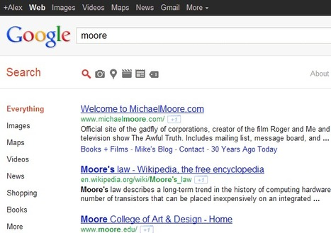 Yet Another Google Search Experiment | Google Sphere | Scoop.it