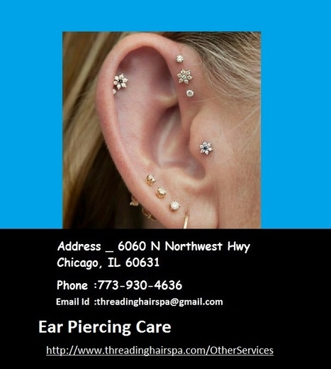 Hair Salons Near Me Infected Ear Piercing Care In Threading