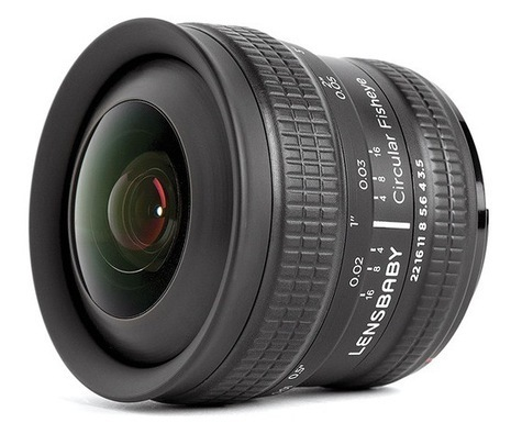 Lensbaby Releases 5.8mm f/3.5 Circular Fisheye Lens | Photography | Scoop.it