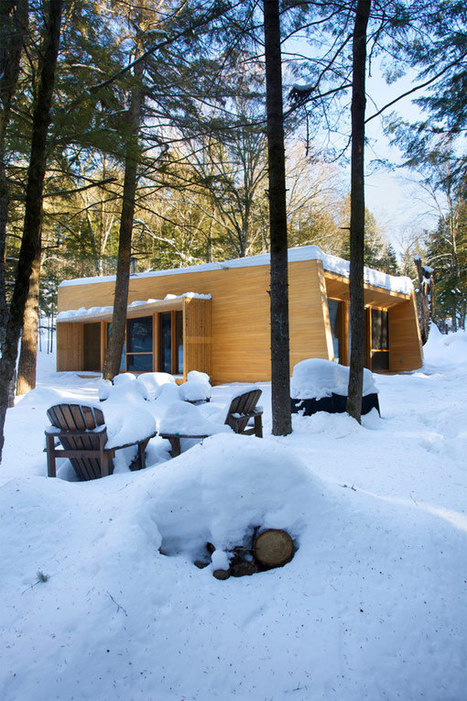 Perpetual Holiday Atmosphere : La Luge Residence in Quebec | Design | News, E-learning, Architecture of the future at news.arcilook.com | Architecture news | Scoop.it