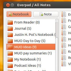 Everpad: The Best Evernote Client For Ubuntu [Linux] | le manchot rôti | Scoop.it