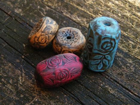 Creare beads con pasta polimerica | Orecchini Fai da Te: i migliori tutorial | Scoop.it