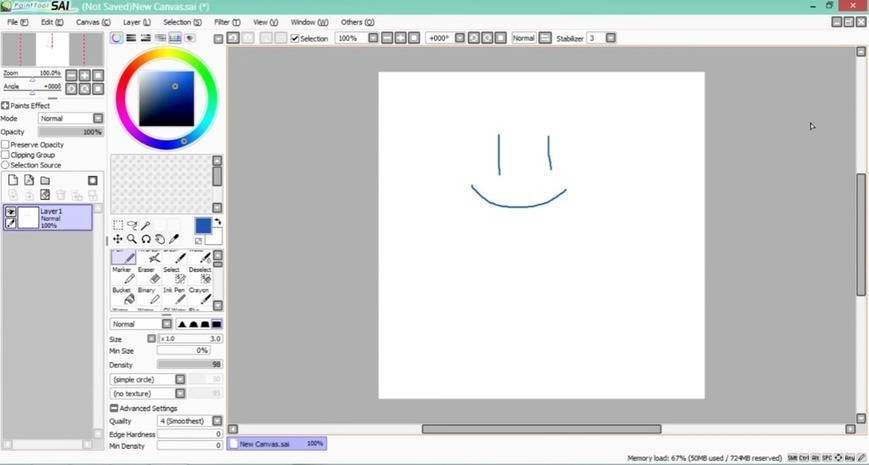 when is paint tool sai 2 coming out