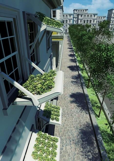 Herbow : Jardin suspendu et store de fenêtre | Solutions alternatives pour un monde en transition | Scoop.it