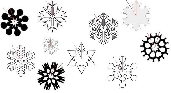 Fiocchi di neve di carta fai da te hobby s - Biopiscina fai da te ...