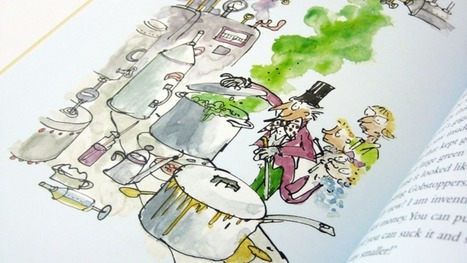 Roald Dahl's 'gobblefunk' words get their own dictionary | Homeschooling High School | Scoop.it
