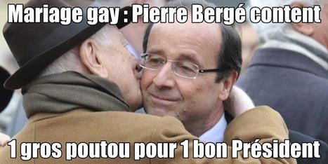 MARIAGEGATE : Pierre Bergé décide-t-il pour la France et les français ? | Toute l'actus | Scoop.it
