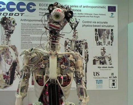 Eccerobot Looks Like a Robot Cyclops After an Acid Bath   Technabob   au cul du c@mion   Scoop.it