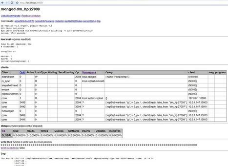 Http Interface - MongoDB | mongodb-node | Scoop.it