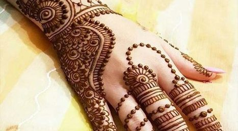 Top 10 Latest Arabic New Mehndi Design 20