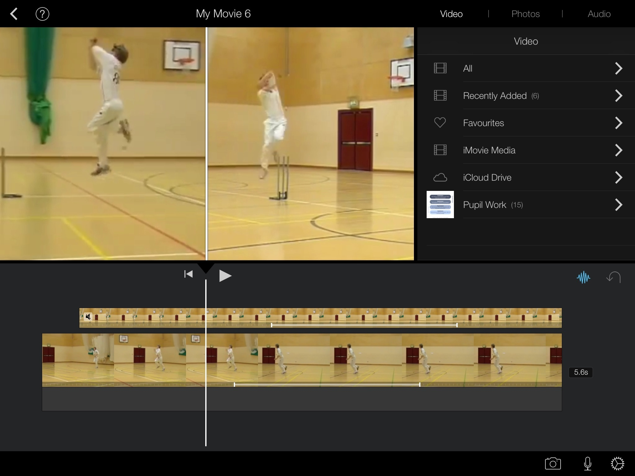 Using iMovie App in Physical Education Lessons ...