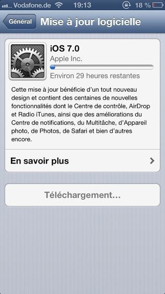 [MAJ] Téléchargez et installez iOS 7 dès maintenant ! Tous les regards sont tournés vers ce dernier | BlogNT | Au fil du Web | Scoop.it