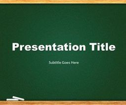 Free green chalkboard powerpoint template fre free green chalkboard powerpoint template toneelgroepblik Images