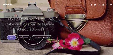 3 applications à tester pour mieux gérer Instagram | Social Media, etc. | Scoop.it