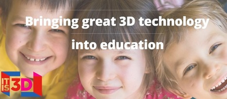 3D Printers Coming to Every School In the UK – Education Insights with Martin Stevens, CEO 'It Is 3D' | 3D and 4D PRINTING | Scoop.it