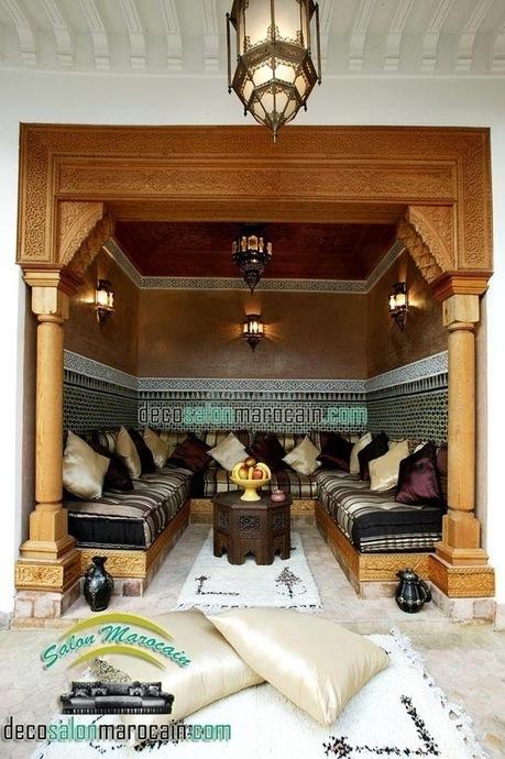 Salon Marocain | Riad De Luxe | Salon Marocain Moderne 2014